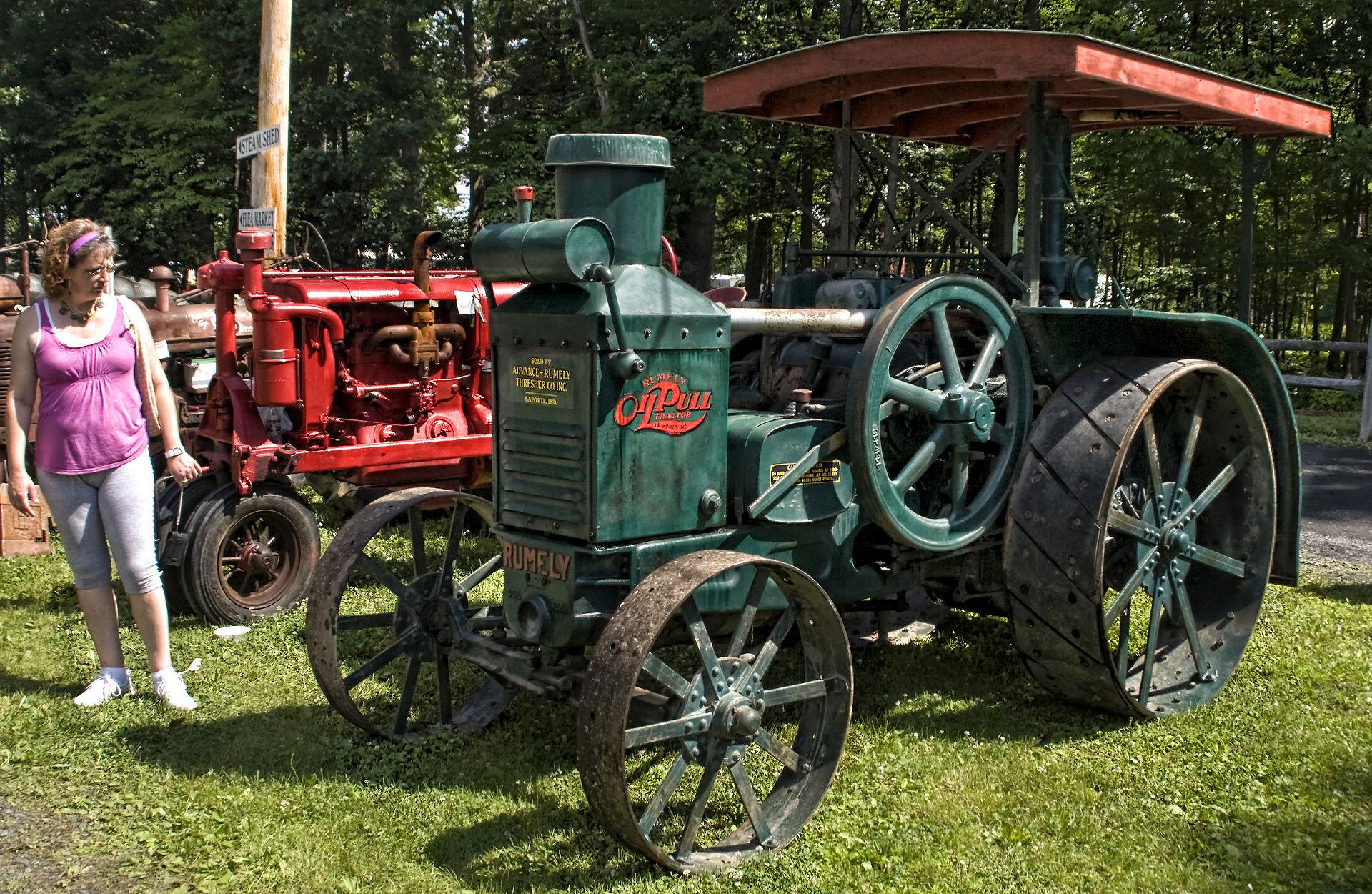Bekannte Traktormarken