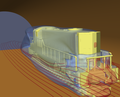 Advanced Simulation Library - Aerodynamics of a locomotive in a tunnel.png