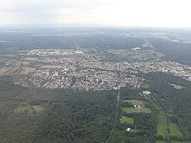 Aerial view of Moerfelden