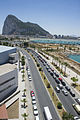 Aerial view of the queues to enter Gibraltar 04.jpg