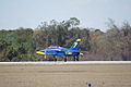 Aero Vodochody L-39C Albatros Blue7 Takeoff 06 TICO 13March2010 (14619463233).jpg