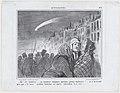 Ah!... les comètes..., ça annonce toujours quelques grands malheurs!..., from Actualités, published in Le Charivari, October 30, 1858 MET DP876736.jpg