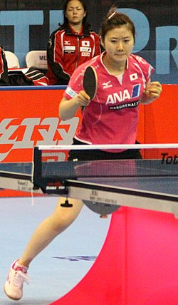 Ai Fukuhara at Table Tennis Pro Tour Grand Finals 2011.jpg