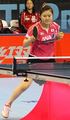 Ai Fukuhara - Ai Fukuhara at the Table Tennis Pro Tour Grand Finals 2011
