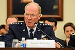 Air Force Gen. Craig McKinley, the chief of the National Guard Bureau, testifies before the House Appropriations Subcommittee on Defense in Washington, D.C. (4523451148).jpg