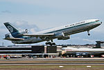 Air New Zealand McDonnell Douglas DC-10-30 (ZK-NZP) takes off at Sydney Airport.jpg