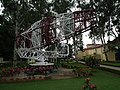 Air traffic control radar and antenna at HAL Museum 7828.JPG