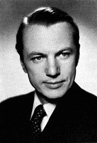 Åke Holmberg omkring 1960