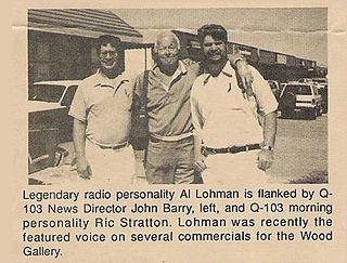 Al Lohman American radio personality