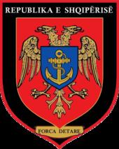 Albanian Naval Forces emblem.png
