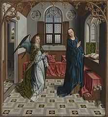 Annunciation of Virgin Mary.