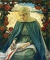 Albert Edelfelt - Virgin Mary in the Rose Garden, sketch.jpg