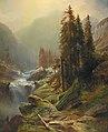 Albert Zimmermann - Large Mountain Landscape.jpg