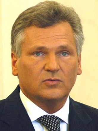 1993 Polish parliamentary election - Image: Aleksander Kwasniewski (cropped)