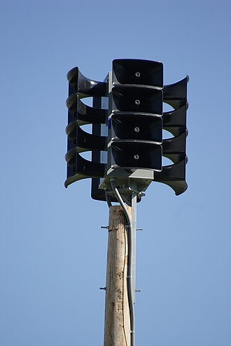 O'Fallon, Illinois - Image: Alertronic High Powered Voice Siren