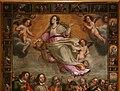 Alessio Gemignani, assunta con gli apostoli e san domenico tra i misetri del rosario 03.jpg