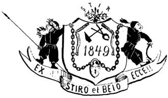 George Barbu Știrbei - Image: Alex. Eraldică (Știrbei), Ghimpele, 31 ian 1867
