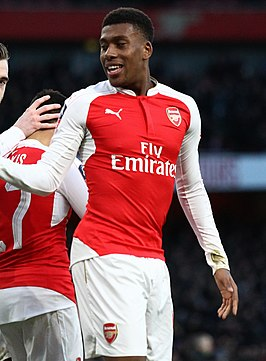 Alex Iwobi in 2016.