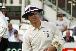 Alex Wharf English cricketer and umpire