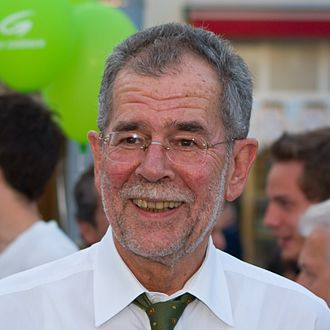 The Greens – The Green Alternative - Alexander Van der Bellen, spokesman of the green party between 1997 and 2008. He was elected President of Austria in 2016.