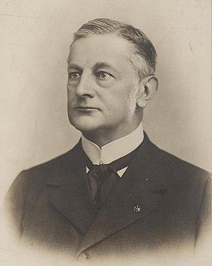 Alexander de Savornin Lohman - Savornin Lohman in 1918