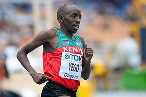 Alfred Kirwa Yego - Image: Alfred Yego Daegu 2011