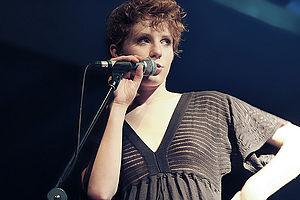 Sung poetry - Alina Orlova at a concert