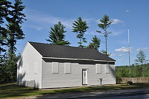 National Register of Historic Places listings in Merrimack County, New Hampshire - Image: Allenstown NH Meetinghouse