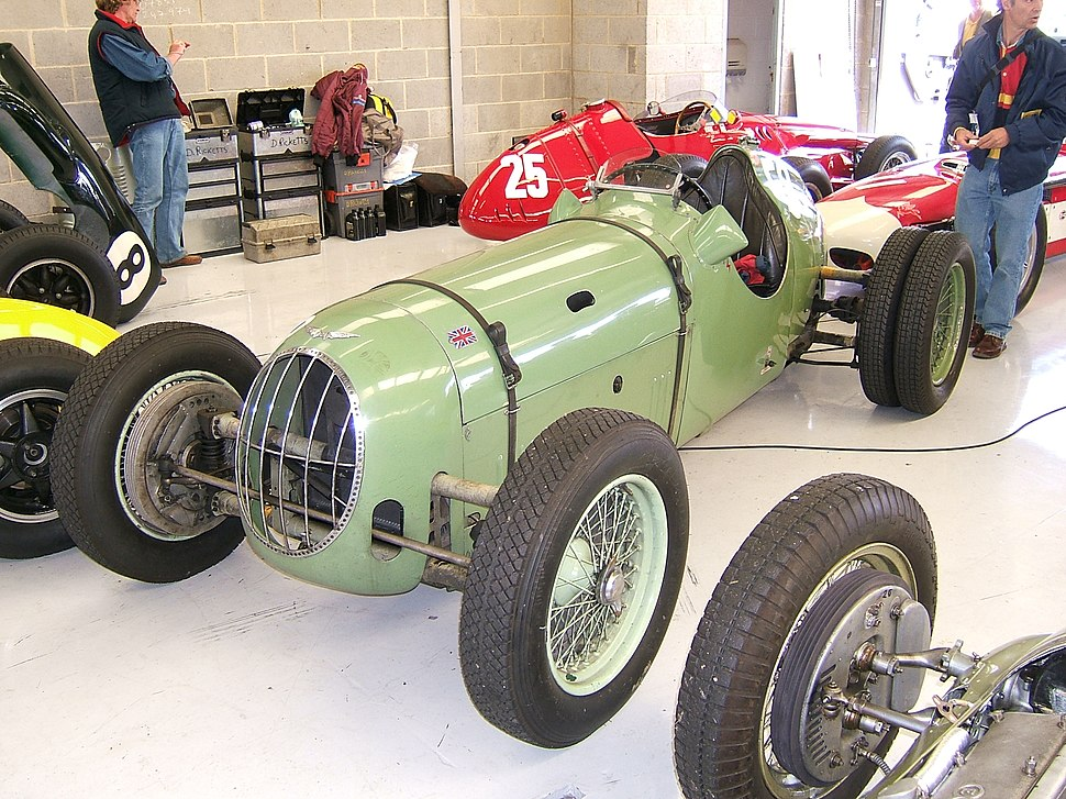 Alta hillclimb car at Silverstone 2007