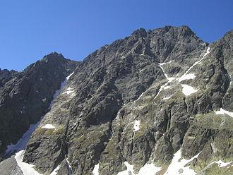 Gerlachovský štít - Gerlachovský štít seen from Velická Valley