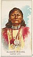 Always Riding, Yampah Ute, from the American Indian Chiefs series (N2) for Allen & Ginter Cigarettes Brands MET DP827995.jpg