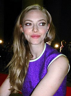 Amanda Seyfried American actor and model