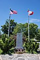 American Lebanese Veterans memorial, Clasky Common Park, New Bedford, Massachusetts.jpg