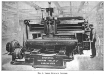 Large surface grinder, Churchill Machine Tool Co Ltd 1913