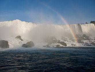 American Falls - Image: American falls rainbow
