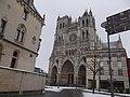 Amiens, Cathédrale sous la neige 3.jpg
