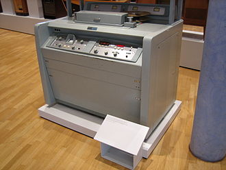 Quadruplex videotape - The VR 1000-B model (1961)