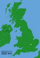 Ampthill - Bedfordshire dot.png