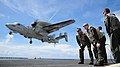 An E-2C Hawkeye lands aboard USS George Washington. (9789017495).jpg