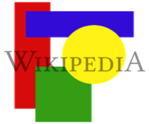 Digital watermarking - Example of a watermark overlay on an image; the logo of Wikipedia can be seen on the center to represent the owner of it.