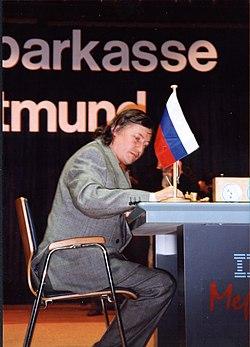 Anatoly Karpov (Анато́лий Ка́рпов) em Dortmund
