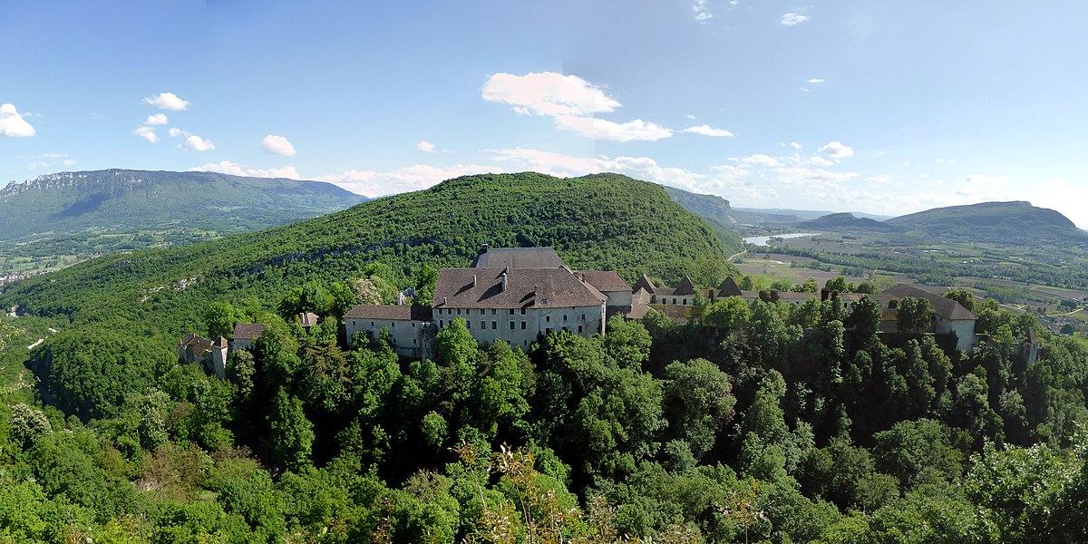 Former charterhouse of Pierre-Châtel, Virignin, Savoie, Rhône-Alpes, France.