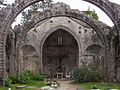 Ancient Saint Mary church in Cambados. Galicia-3.jpg
