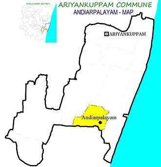 Andiarpalayam - Andiyarpalayam Village in Ariyankuppam Commune