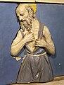 Andrea della robbia e bottega, madonna della misericordia, 1490-1510 ca., predella 04 girolamo.jpg