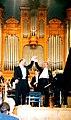 Andrej Hoteev&Vladimir Fedoseyev Moscow1996 Tchaikovsky -the 4 piano concertos -World premiere.jpg