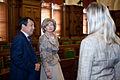 Andrejs Klementjevs tiekas ar Kirgizstānas Revīzijas palātas priekšsēdētāju (5776378174).jpg