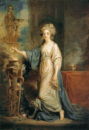 Portrait of a Woman as a Vestal Virgin (1770s)...