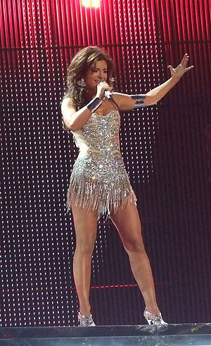 Ani Lorak - Lorak in Serbia at the Eurovision Song Contest 2008, Semi-final.