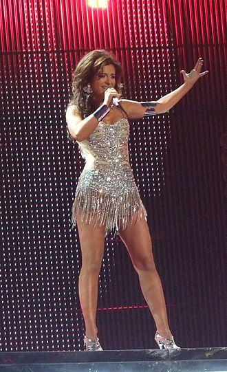 Ani Lorak - Lorak in Serbia at the Eurovision Song Contest 2008, Semi-final.